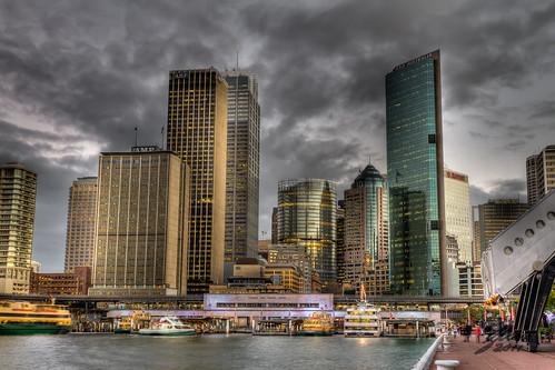 Circular Quay Sydney by Glen Adamson