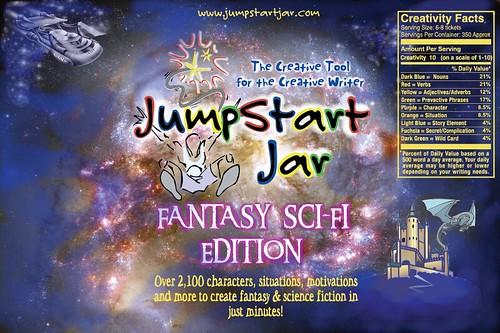JumpStart Jar - Fantasy Sci-Fi Edition Label
