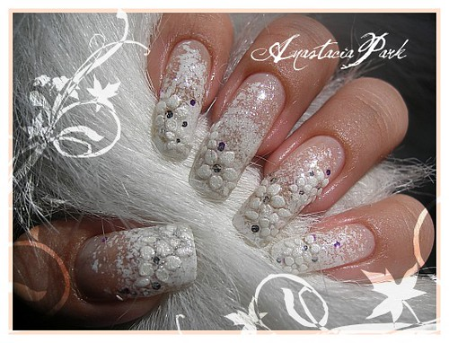 Wedding Style Nails