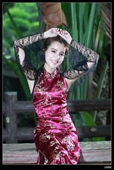 nEO_IMG_DP1U1037 (c0466art) Tags: old light portrait motion holland building girl beautiful smile face rain canon pose blood eyes day sweet gorgeous chinese young taiwan style half attractive lovely cloth charming elegant 1dx c0466art