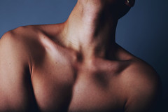Untitled 13 (xBellanottephotography) Tags: portrait art beautiful beauty nude skin body muscle portraiture bones emotional emotive collarbone