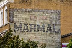 Marmal... (RoyReed) Tags: london nottinghill ghostsign england unitedkingdom gb