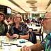 Lily, Iliyana & Ali, King's Noodle restaurant, Toronto Chinatown, Photo by CRudin
