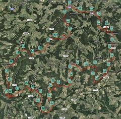 Rechberg Marathon Map