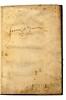 Ownership inscription in Sulpitius Verulanus, Johannes: De componendis et ornandis epistolis. De Syllabarum quantitate epitome