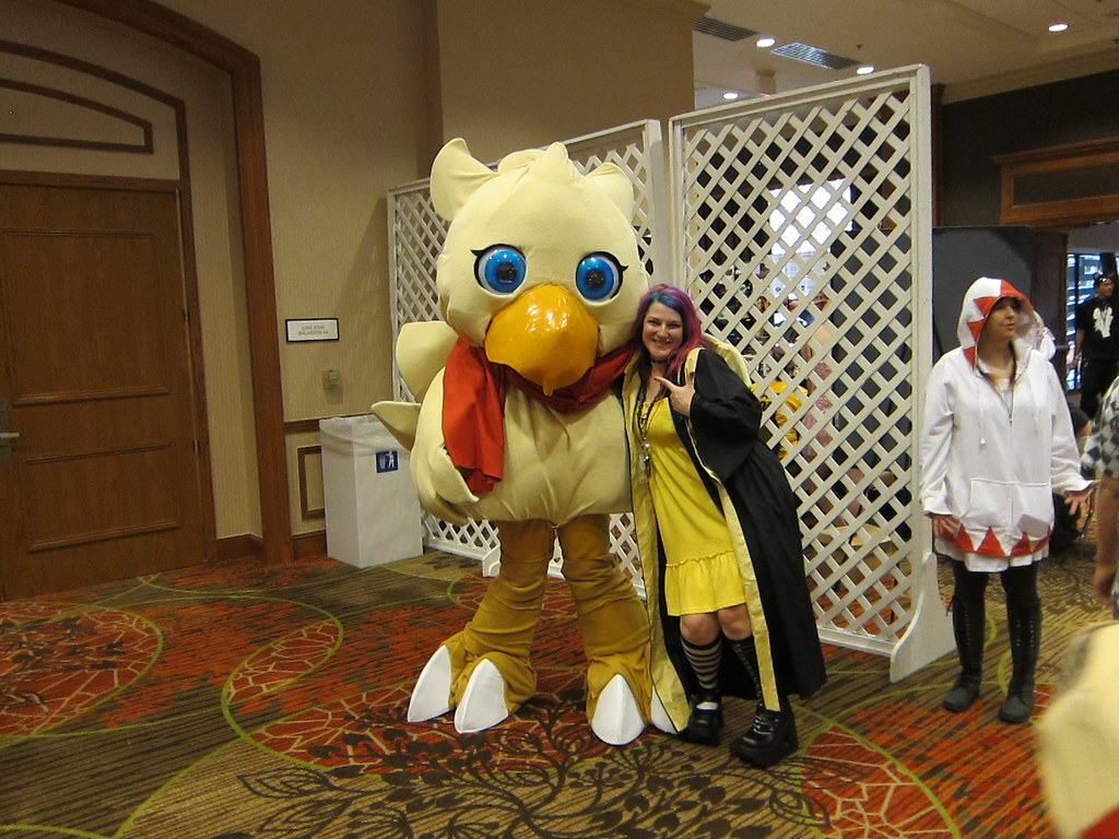 Chocobos and Scrufflepuff