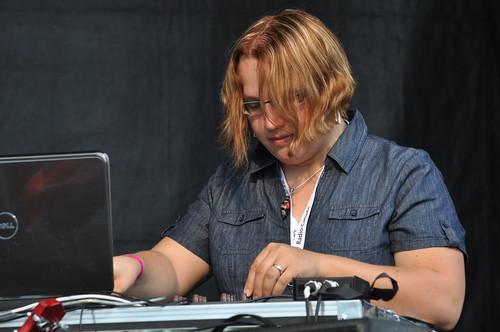 DJ CPI at Westfest
