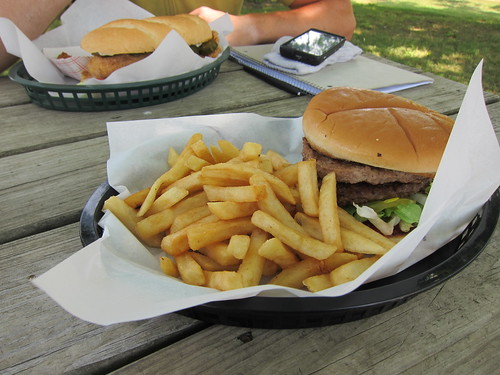 Snack shack burger