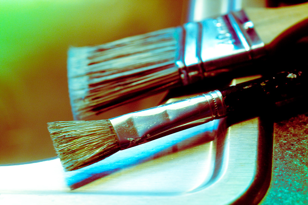 Cross Process 13/30:  Paintbrushes