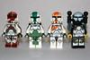 Delta Squad (Gio Customs) Tags: boss starwars lego sev minifig custom commando scorch fixer omegasquad deltasquad