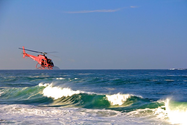 Спасательный вертолет Bombeiros