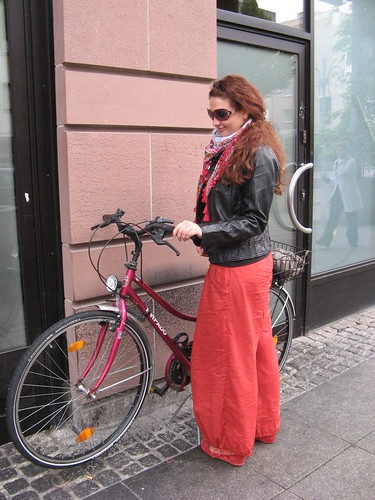 Die rote Zora und ihr Bike