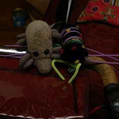 Dust Mite & zip-tie spider
