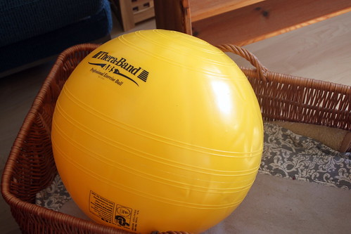 excercise ball.