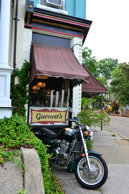 Garnett's with Motorcycle