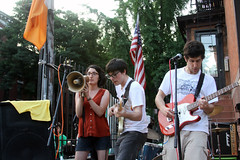 Lame Drivers live in Fort Greene for Make Music NY