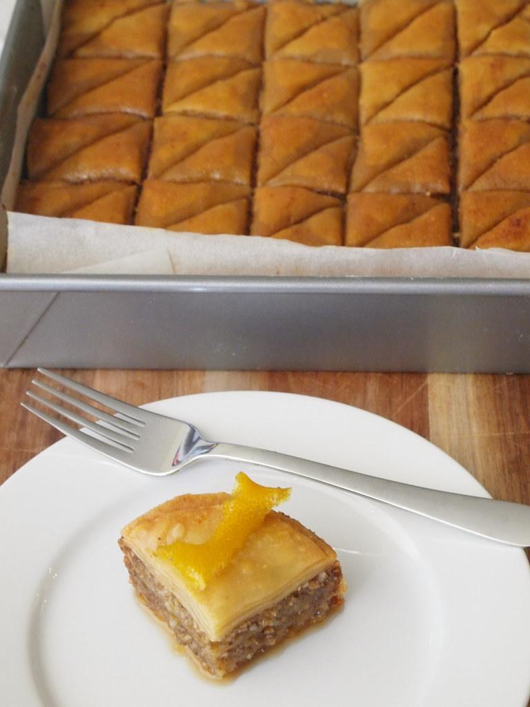 Sticky Penguin's Macadamia & Lemon Myrtle Baklava