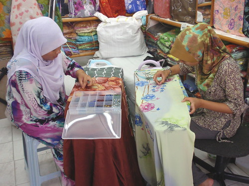 Kota Bharu fabrics