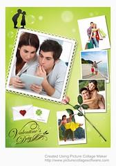 Valentine's Card (Pearl Mountain) Tags: collage scrapbook photo calendar invitation software photocollage valentinescard collagemaker picturecollage