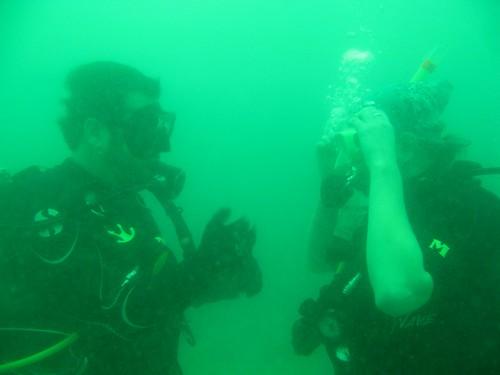 Diving on Koh Tao