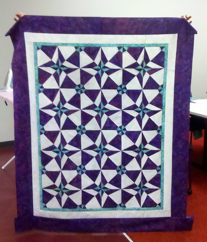 Office Quilt Group Raffle Quilt