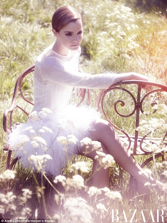 From teen queen to fashionista Emma Watson goes all grown-up in glossy magazine shoot   1
