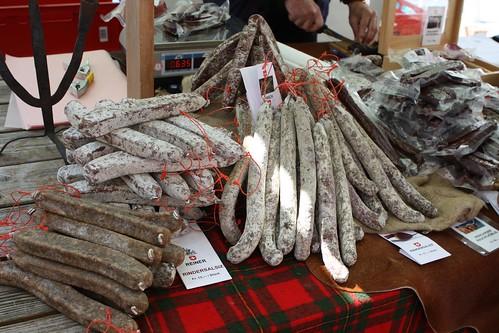 Salami at Lucerne Market