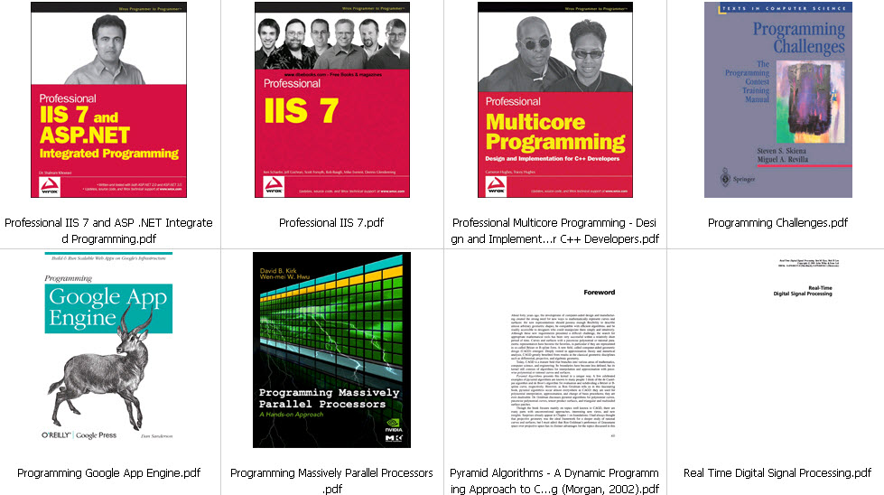 Programmer Mega Book Pack 136