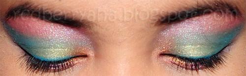 Natural Violent Eye Irises