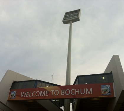 WM-Stadion Bochum: Welcome to Bochum