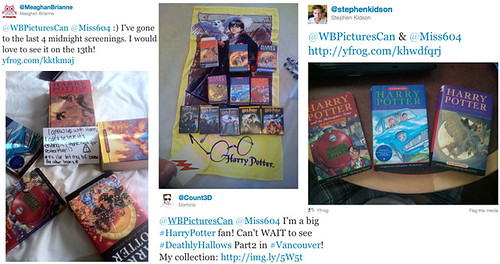 Harry Potter Contest Entries