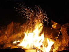 (Snoos Pix) Tags: wood camping light fire timber burn bonfire pyro flickrchallengegroup
