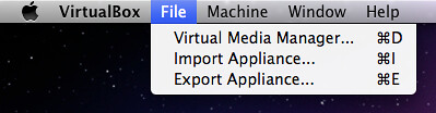How to import Mapnik VM archive into VirtualBox