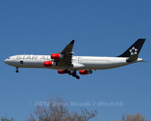 OY-KBM / Star Alliance / SAS