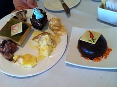 Dessert brunch