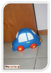 Peso de Porta Carrinho (mfuxiqueira) Tags: carro feltro carrinho decoraoinfantil quartoinfantil pesodeporta quartomenino decoraomenino quartotransportes