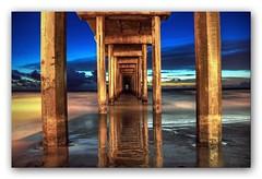 Sunset at Scripps (todaniell) Tags: ocean blue tom photoshop pier seaside dock nikon sandiego availablelight lajolla pacificocean scrippspier d90 todaniell odaniell