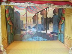 (11 of 17) Barbie Little Theater: Arabian Nights Castle (Foxy Belle) Tags: house castle set vintage toy doll theater little stage barbie structure retro cardboard nights 1960s arabian