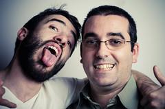 Dumb & Dumber (nicola.albertini) Tags: people italy man portraits torino nikon funny italia dumb persone uomo turin ritratti divertenti dumber project365 d7000