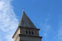 Sunday Steeple (throgers) Tags: sanfrancisco california church broadway steeple guesswheresf foundinsf stbrigid vanness gwsf