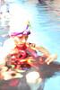 Bailarina en el agua (Icaro Silencia art) Tags: mujer agua piscina nadar mirada ika pintura ica bailarina figura icaro cintas ikaro impresionistas icarosilencia ikarosilencia