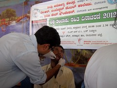 Oral Screening (Trinity Care Foundation || Underserved Populations) Tags: hiv who smoking tobacco mds publichealth communityhealth medicalcamps corporatesocialresponsibility dentalcheckup dentalscreening healthprograms trinitycarefoundation dentalpublichealth communitydentistry publichealthdentistry worldnotobaccoday2012 outreachhealthprogram