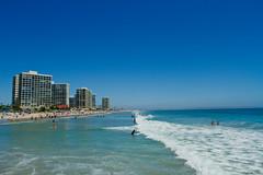 Coronado Shores (charles25001) Tags: ocean california sea beach water sandiego diego cliffs coronado seashore pointloma coronadoshoresbeachpacificsan