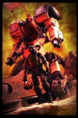 OriToy Acid Rain - Speeder MK II [Transformed Mode] (Ed Speir IV) Tags: world fiction sol rain infantry last toy toys actionfigure switch war transformer action military acid wwiii wwii under apocalypse battle science line worldwarii ii pollution armor actionfigures figure dio scifi vehicle sciencefiction kit division mode figures armored defense pilot mk diorama mecha commander speeder apocalyptic mech lau transformed mkii 118 acidrain 88th lastlineofdefense worldwariii kitlau oritoy warunderpollution solcommander speedermkii