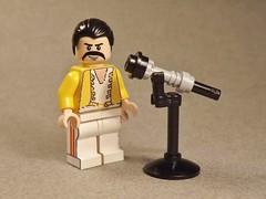 Freddie Mercury (Kyle Peckham) Tags: lego mercury queen freddie minifigure