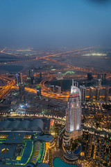 Dubai on top (5AAAAM) Tags: city light sky tower night buildings landscape landscapes town nikon dubai cityscape top uae cityscapes east emirates khalifa arab skytower middle unitedarabemirates topview burj nightscapes atthetop d600 skyhigh nikond600 burjkhalifa topofdubai
