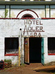 Hotel Adler, Sharon Springs (tombarnes20008) Tags: newyork abandoned resort health springs restoration healing spa hoteladler schohariecounty sharonsprings