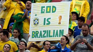 世界杯足球赛将于巴西圣保罗揭幕