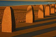 Michigan City Harbor Beach Area  9-12-2016 8628 (www.cemillerphotography.com) Tags: lakefront lakemichigan sundown dusk nightfall washingtonpark recreation megawatt energy emissions indiana factory smokestack smoke