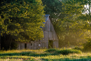 Barn at the Golden Hour (Explored Sep 29, 2016 #246)